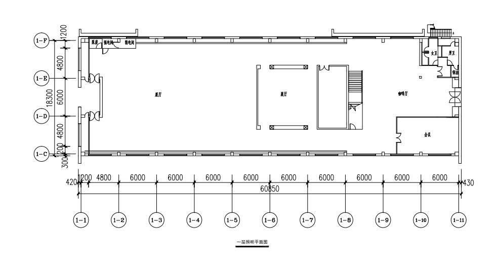 兰境艺术空间平面图